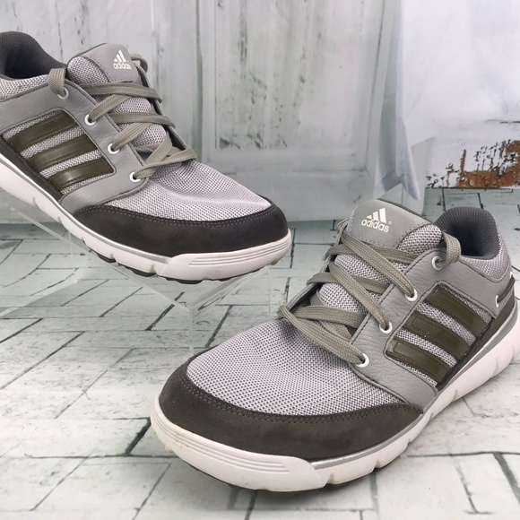 adidas Other - Adidas Men's EVN791001  Ankle High Top Gray Size 8